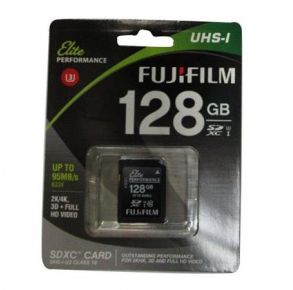 Fuji 128GB Micro SD Card